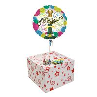 Gifts CORK POPPING CONGRATULATIONS-GIFT BOXED-FREE PARTY POPPERS & BLOW HORNS