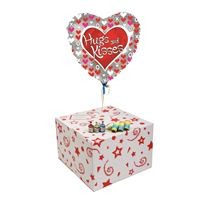 Gifts HUGS AND KISSES-GIFT BOXED-FREE PARTY POPPERS & BLOW HORNS
