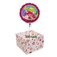 Gifts HAPPY BIRTHDAY PUPPY-GIFT BOXED-FREE PARTY POPPERS & BLOW HORNS