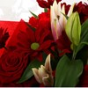 alternative image for Red Rapture Bouquet-FREE DELIVERY