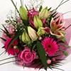 alternative image for Pink Florence Bouquet-FREE DELIVERY