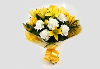 Golden Sunshine Bouquet - FREE DELIVERY