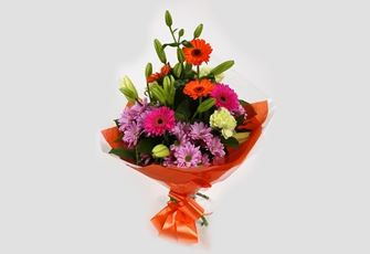 Colour Burst Bouquet - FREE DELIVERY