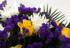 Purple Moon Bouquet-Clear Savings-Clear Prices-FREE DELIVERY