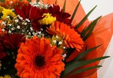 Red Fall Bouquet -FREE DELIVERY