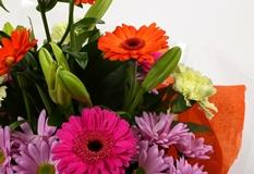 Colour Burst Bouquet - FREE DELIVERY-Clear Savings-Clear Prices-Compare The Quaility