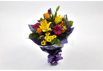 Vibrant Delight Bouquet-FREE DELIVERY