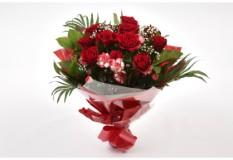 Red Blush Bouquet-FREE DELIVERY