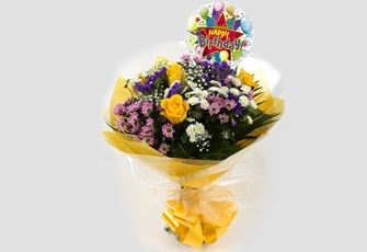 Birthday Balloon & Charm Bouquet - FREE DELIVERY