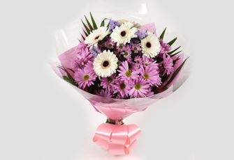 Pink Santini Bouquet - FREE DELIVERY-Clear Savings-Clear Prices-Compare The Quaility