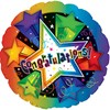 alternative image for CONGRATULATIONS 3D STARS-GIFT BOXED-COMES WITH FREE PARTY POPPERS & BLOW HORNS