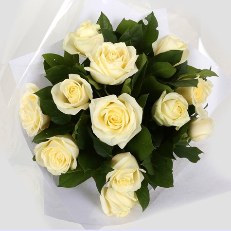 12 white roses bouquet clear savings clear prices free delivery
