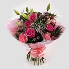 Pink Crystal Bouquet-FREE DELIVERY