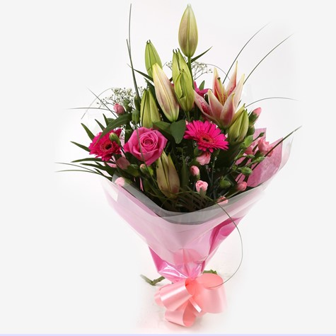 Pink Florence Bouquet - FREE DELIVERY
