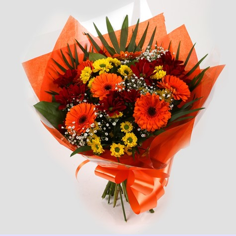 Red Fall Bouquet-Clear Savings-Clear Prices
