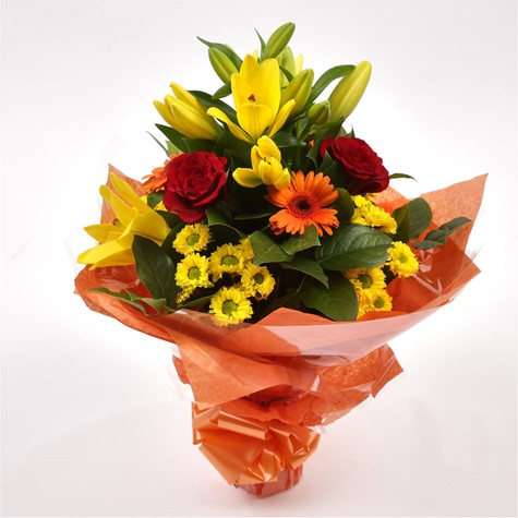 Sunshine Orange Bouquet