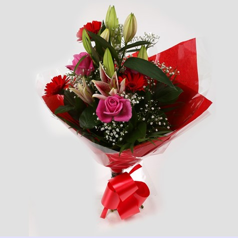 Pink Oriental Bouquet - FREE DELIVERY