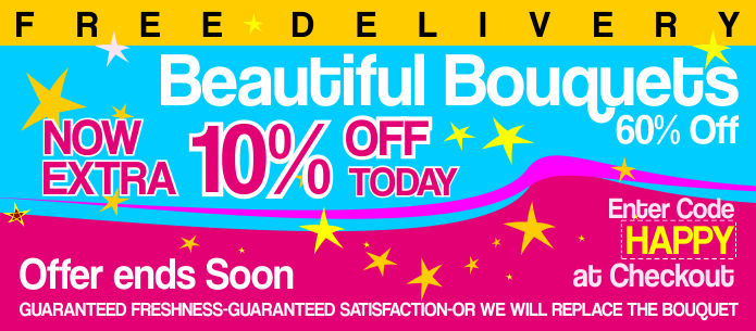 BIG SAVINGS ON BOUQUETS