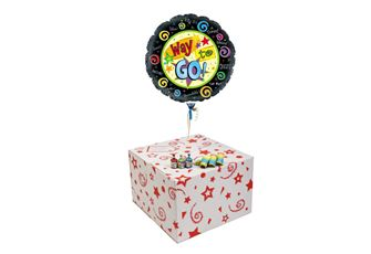WAY TO GO-GIFT BOXED-FREE PARTY POPPERS & BLOW HORNS