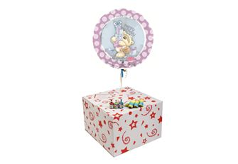HAPPY BIRTHDAY FIZZY MOON-GIFT BOXED-FREE PARTY POPPERS & BLOW HORNS