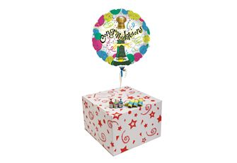CORK POPPING CONGRATULATIONS-GIFT BOXED-FREE PARTY POPPERS & BLOW HORNS