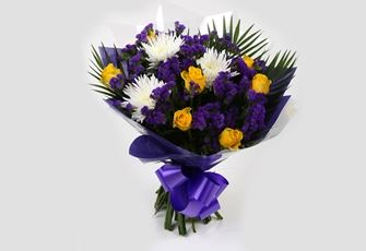 Purple Moon Bouquet-Clear Savings-Clear Prices