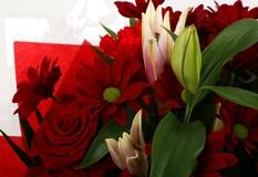 Red Rapture Bouquet-FREE DELIVERY