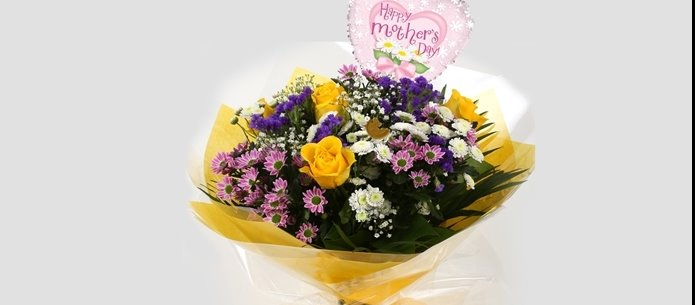 Mothers Day Balloon & Charm Bouquet - FREE DELIVERY