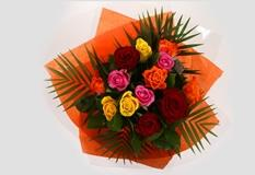 12 Beautiful Roses-OFFER ONLY 2 DAYS! Clear Savings-Clear Prices