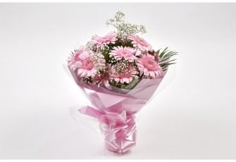 Pink Lady Gerbera Bouquet
