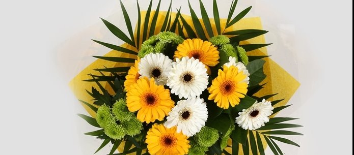 Yellow Cream Bouquet-Clear Savings-Clear Prices
